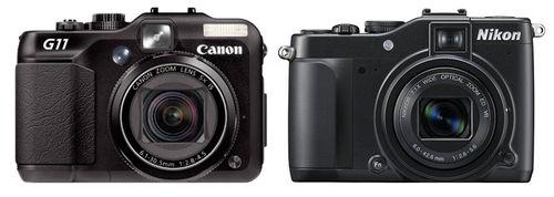 Canon-powershot-g11-VS Nikon P7000