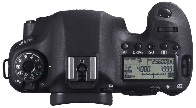 EOS 6D TOP DISPLAY WiFi GPS