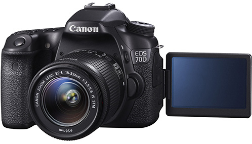 EOS 70D FSL VARI ANGLE MONITOR OPEN w EF-S 18-55mm IS STM_all